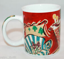 Starbucks Coffee Home For The Holidays Fireplace Coffee Tea Mug Cup Mary Graves