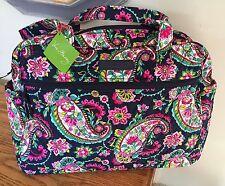 Vera Bradley Baby Bag Diaper Bag w/pad in Petal Paisley NWT