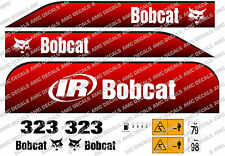 BOBCAT 323D MINI DIGGER DECAL SET