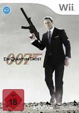 Nintendo Wii juego-Bond 007: un quantum consuelo/Quantum of Solace (con embalaje original)