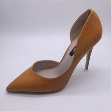 2017 Women's Yellow High Heel Shoes Pointed Toe Pumps Chaussures Femmes Escarpin