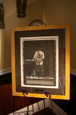 """STEVIE RAY VAUGHAN - """"LAST CALL"""" LITHOGRAPH AUTOGRAPHED / SIGNED BY PHOTOGRAPHER"""
