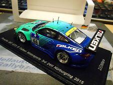 Porsche 911 997 gt3 R halcones 24h nurburgring 2015 #44 henzler 1/500 Spark 1:43