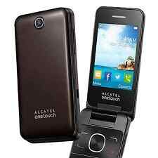 Alcatel 20.12G 2012G Mobile Phone Chocolate SIM FREE Unlocked Big Buttons - NEW