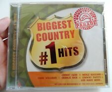 BIGGEST COUNTRY #1 HITS, COUNTRY HIT PARADE, VARIOUS ARTISTS (2005 CD), SEALED!!