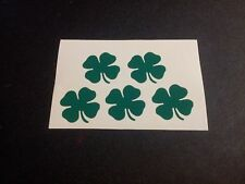 Vinyl Decal SHAMROCK CLOVER IRISH Sticker Window Car Truck Laptop ANY COLOR