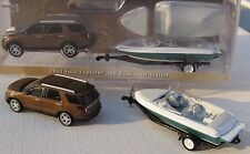 GREENLIGHT HITCH & TOW SERIES 4 2013 FORD EXPLORER & BOAT WITH TRAILER 1:64