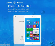 Chuwi Hi8 Dual Boot Tablet PC Windows 10 & Android 4.4 Intel Z3736F Quad Core 2G