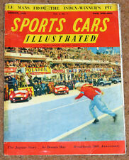 Sports Cars Illustrated Vol 1 No 1 - Le Mans 24 Hrs, The Jaguar Story,Brooklands