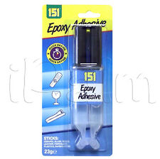 Epoxy Resin Clear Adhesive Glue Syringe - Ceramic, Metal, Glass, Plastic, Wood