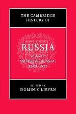 THE CAMBRIDGE HISTORY OF RUSSIA - NEW HARDCOVER BOOK