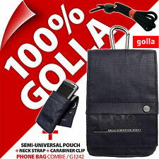 Golla Blue Phone Case Pouch Bag for iPhone 4S 5C 5S Samsung Galaxy S2, S4 Mini