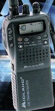 MIDLAND 42 Multi  HANDHELD CB RADIO Multiband AM/FM with charger & car adapter