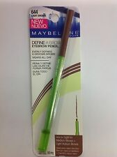 Maybelline Define-A-Brow Eyebrow Pencil LIGHT BROWN # 644 NEW.