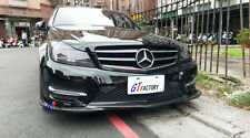CARBON FRONT LIP SPOILER GH STYLE FOR MERCEDES BENZ W204 AMG FACELIFT ONLY
