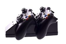 Xbox 360 Venom Twin Wireless Remote Control Charging Charger Cradle Black NEW !!