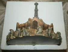 Signed World of Krystonia RARE The Obelisk WC1 David Woodard Swarovski COA Boxed