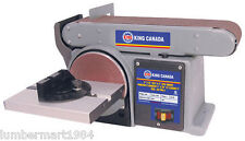 "King Canada Tools KC-705L-6 COMBINATION 4""X36"" BELT AND 6"" DISC SANDER Ponceuse"