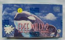 Free Willy 2 Keiko Orca Whale Trading Cards SkyBox Box 36 Packs 1995 Warner Bros