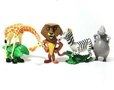 Madagascar cute animal PVC figure figures set of 4pcs toy state toys