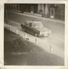 PHOTO ANCIENNE - VINTAGE SNAPSHOT - VOITURE RUE - OLD CAR STREET