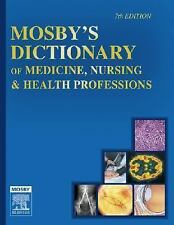 Mosby's Dictionary of Medicine, Nursing & Health Professions-ExLibrary