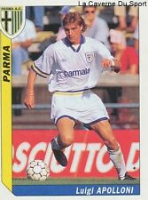N°253 LUIGI APOLLONI # ITALIA PARMA.AC ND.GORICA STICKER TUTTO CALCIO 1995 SL