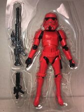 CRIMSON STORMTROOPER ROGUE Entertainment Earth STAR WARS BLACK SERIES 6in. #3635