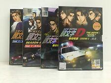 INITIAL D STAGE 5 & 6 + NEW MOVIE LEGEND 1 & 2 (4BOX SET) JAPANESE ANIME DVD