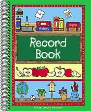 Record Book by Teacher Created Materials Staff and Teacher Created Resources...