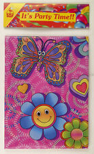 Flower/Butterfly PVC Party Tablecloth - Brand New