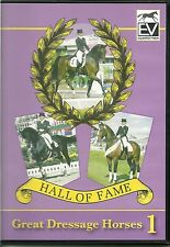 HALL OF FAME GREAT DRESSAGE HORSES 1 - EQUESTRIAN DVD