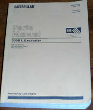 Caterpillar 330B L Excavator Parts Manual SEBP2437-03 Vol I