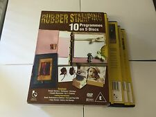 10 Pack: Rubber stamping [DVD] [2007] COMPLETE SET