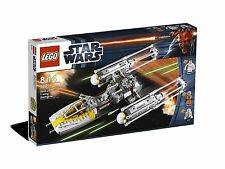 Lego Star Clone Wars 9495 GOLD LEADERS Y WING STARFIGHTER Leia Xmas Present New