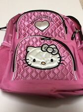 Sanrio Hello Kitty Backpack Pink New W/o Tags