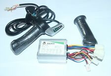 E-Scooter 24V 350W Speed Control Motor Brushed Controller Box&Throttle E-Bike