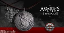 Assassins Creed Syndicate Jacob's One Shilling Necklace - Coin Medallion