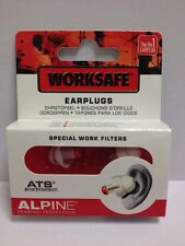 ALPINE worksafe EAR plugs-special lavoro filters-cheapest PREZZO SU EBAY