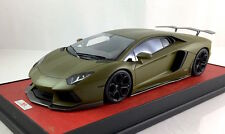 1/18 MR Lamborghini Aventador LP700 Military Green dg davis lb apm giovanni