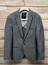 Next Boys Suit Jacket Chambray Dress Holiday Special Occasion Size 8