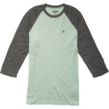 Volcom Mock Twist 3/4 Raglan Tee (XXL) Faded Army