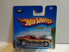 2005 Hot Wheels Treasure Hunt #129 Red Rodger Dodger w/Real Riders Short Card