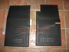 New Set of Amco Style Rubber Floor Mats MG Midget 1965-79 With Roll Up Windows