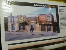 Downtown Deco HO #DD1002 Addams Ave. Part two (Plaster Kit)
