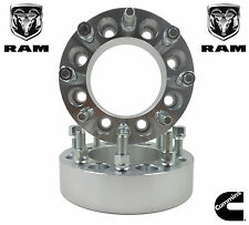 2 Pc 8 Lug Wheel Spacers Adapters | 2012 & 2013 Dodge Ram 2500 3500 Dually 2""