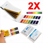 160 PH INDICATOR TEST STRIPS 1-14 PAPER LITMUS TESTER ~ URINE & SALIVA