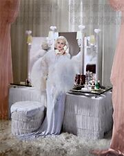 JEAN HARLOW IN DINNER AT 8 ON THEH PHONE BEAUTIFUL COLOR PHOTO BY CHIP SPRINGER