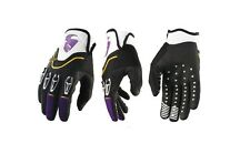GUANTI MOTO ENDURO CROSS THOR FLOW PURPLE VIOLA GLOVE TG L