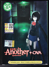 *NEW* ANOTHER *12 EPISODES + OVA*ENGLISH SUBS*ANIME DVD*US SELLER*FREE SHIPPING*